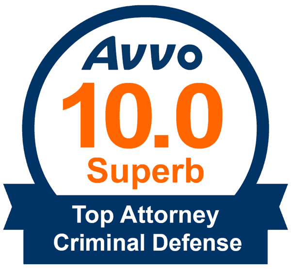 Top Criminal Attorney Badge